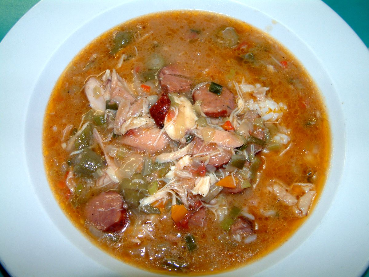 The First Muse - New Orleans Chicken and Andouille Sausage Gumbo